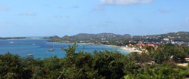 加勒比岛露西娅st 免版税库存图片