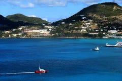 加勒比岛 免版税图库摄影