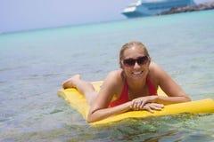 加勒比巡航假期 库存图片