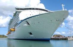 加勒比巡航在拉巴迪,海地 免版税库存图片