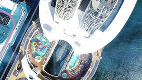 加勒比巡航波多黎各海岛狂欢节 股票录像