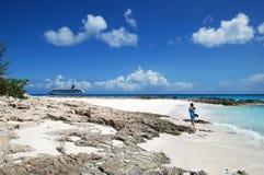 加勒比巡航 图库摄影