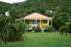 加勒比房子 免版税库存照片