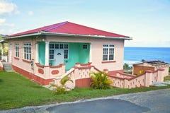 加勒比房子 库存照片