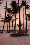 加勒比日出 免版税库存照片