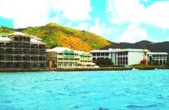 加勒比横向 免版税库存图片