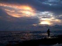加勒比沙子热带白色 库存图片