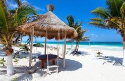 加勒比海岸 免版税库存照片