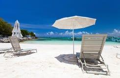 加勒比海岸 库存照片