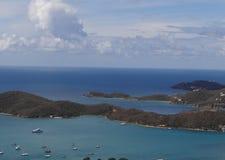 加勒比海景 免版税库存照片