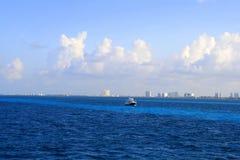 加勒比海,坎昆 免版税图库摄影