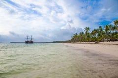 加勒比海滩 免版税库存照片