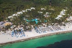 加勒比海滩 库存照片