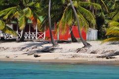 加勒比海滩 免版税图库摄影