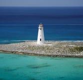 加勒比灯塔 库存照片