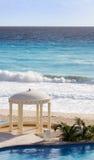 加勒比眺望台海洋池手段 免版税库存图片