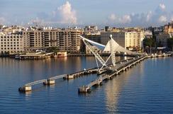 加勒比端口 图库摄影