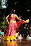 加勒比舞蹈演员 免版税库存照片