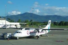 加勒比航空公司是特立尼达和多巴哥的国有航空公司和航空公司 免版税库存照片
