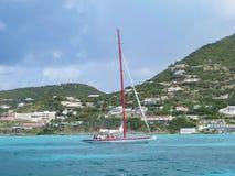 加勒比航行 图库摄影