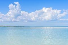 加勒比蓝色 免版税库存图片