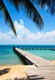 加勒比视图 免版税图库摄影