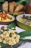 加勒比食物 免版税库存照片