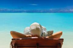 加勒比巴哈马Maldivian夏威夷海滩的天堂 库存照片