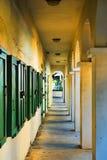 加勒比建筑学,维尔京群岛 免版税图库摄影