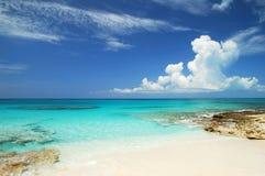 加勒比水 免版税库存图片