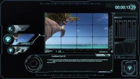 加勒比analisys显示器 皇族释放例证