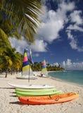 加勒比watersports 库存图片