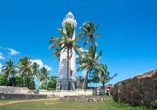 加勒荷兰堡垒,斯里兰卡 库存照片