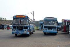 加勒,斯里兰卡城市视图  免版税库存图片