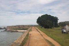加勒,斯里兰卡老镇  免版税库存照片