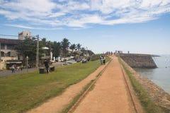 加勒,斯里兰卡老镇  图库摄影