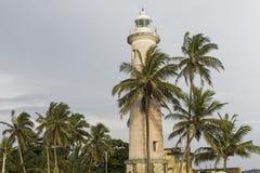 加勒,斯里兰卡- 2016年12月09日:在灯塔,堡垒附近的区域 免版税库存图片
