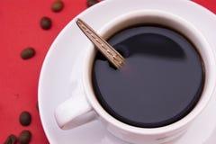 加奶咖啡杯子 库存照片