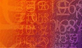 加密编号 免版税库存照片
