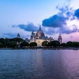 加尔各答维多利亚纪念品  免版税图库摄影