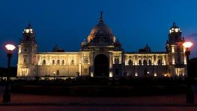 加尔各答维多利亚纪念品  免版税库存照片