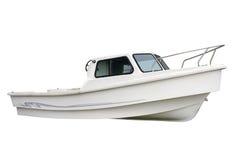 贝加尔湖小船湖马达全景 库存照片