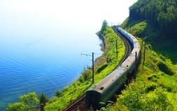 贝加尔湖湖俄国 库存照片