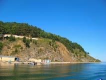 贝加尔湖湖 免版税库存图片