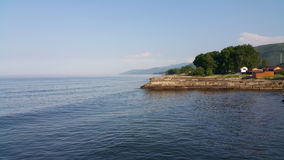 贝加尔湖湖 图库摄影