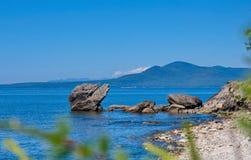 贝加尔湖湖 免版税库存照片