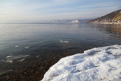 贝加尔湖的本质 库存照片
