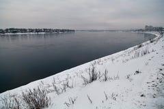 贝加尔湖的本质 免版税库存照片