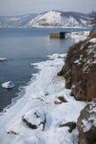 贝加尔湖的本质 图库摄影