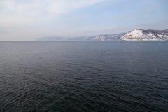 贝加尔湖的本质 库存图片